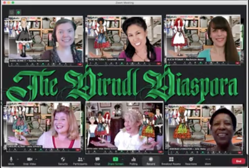 Dirndl Diaspora zoom cast
